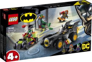 Lego Super Heroes 76180 Batman Vastaan The Joker: Takaa-ajo Batmobilella