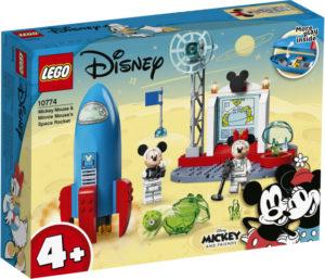 Lego Mickey and Friends 10774 Mikki Hiiren ja Minni Hiiren Avaruusraketti