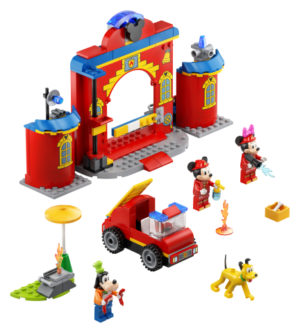 Lego Mickey and Friends 10776 Mikin ja Ystävien Paloasema ja Paloauto