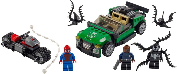 Lego Super Heroes 76004 Spider-Man - Hämähäkkipyörän Takaa-ajo