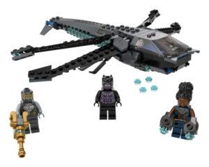 Lego Super Heroes 76186 Mustan Pantterin Lohikäärmelentokone