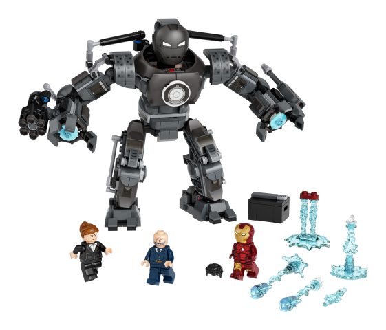 Lego Super Heroes 76190 Iron Man: Iron Monger Luo Kaaosta