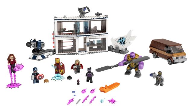 Lego Super Heroes 76192 Avengers: Endgame – Viimeinen Taistelu