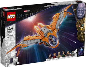 Lego Super Heroes 76193 Vartijoiden Alus