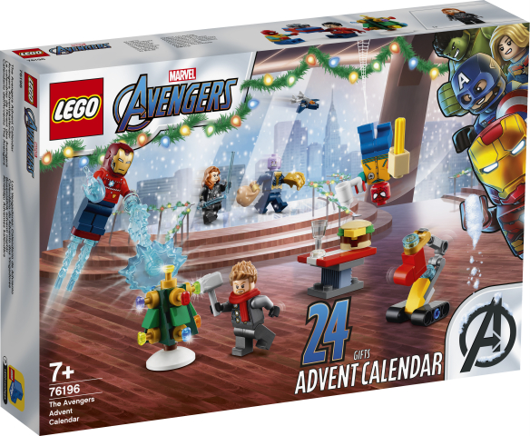 Lego Super Heroes 76196 Super Heroes Joulukalenteri