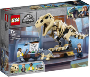 Lego Jurassic World 76940 Tyrannosaurus Rex Fossiilinäyttely