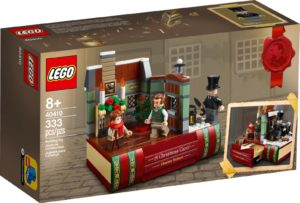 LEGO 40410 Kunnianosoitus Charles Dickesille
