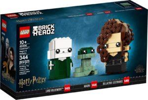 LEGO BrickHeadz 40496 Voldemort, Nagini ja Bellatrix