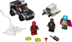 LEGO Super Heroes 76184 Spider-Man ja Mysterion Dronekopterihyökkäys