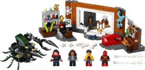 LEGO Super Heroes 76185 Spider-Man Sanctum-Tukikohdan Työpajalla
