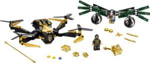 LEGO Super Heroes 76195 Spider-Man ja Dronekopterien Kaksintaistelu