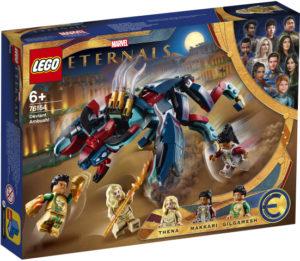 Lego Super Heroes 76154 Deviaanin Väijytys!