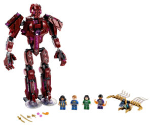 Lego Super Heroes 76155 Arishemin Varjossa